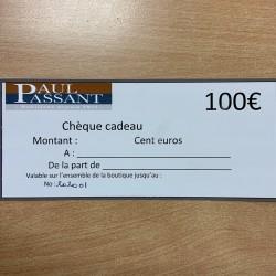 Chèque CADO 100